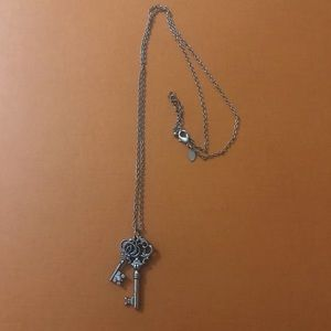 Jewelry - Long Necklace with Key Pendants